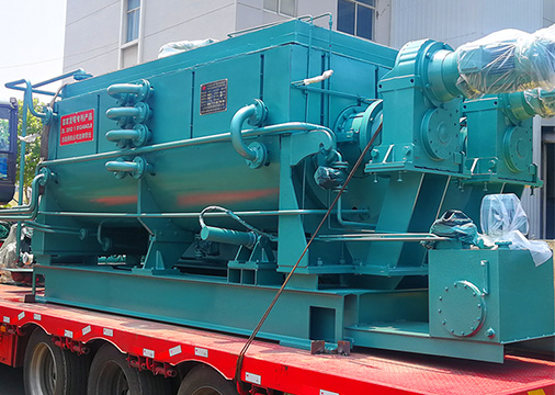 WE SUPPLY OUR HP-CPK SERIES CARBON PASTE KNEADER TO PAKISTAN CUSTOMER.